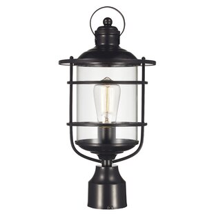 Reviews Gerome 1-Light Lantern Head By Breakwater Bay