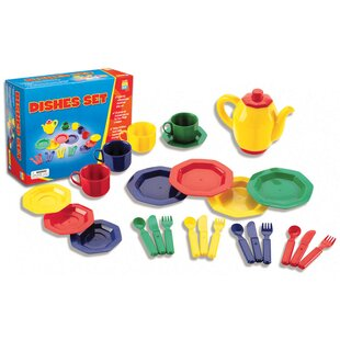 Savings 25 Piece Dish Play Set By Educational Insights