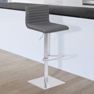 Affordable Harrell Adjustable Height Swivel Bar Stool by Orren Ellis Reviews (2019) & Buyer's Guide