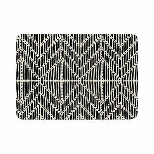 DLKG Design Tribal Drawings Memory Foam Bath Rug