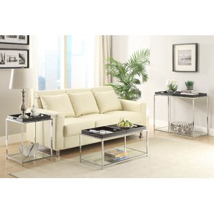 Reviews Boger 3 Piece Coffee Table Set By Wrought Studio