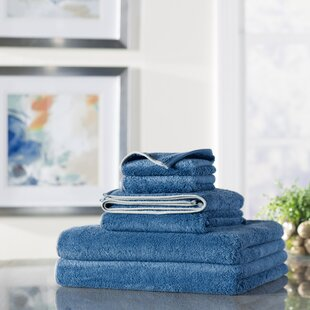 Croft 6 Piece 100% Cotton Towel Set by Zipcode Design