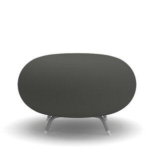 Pebble Round Ottoman by Allermuir