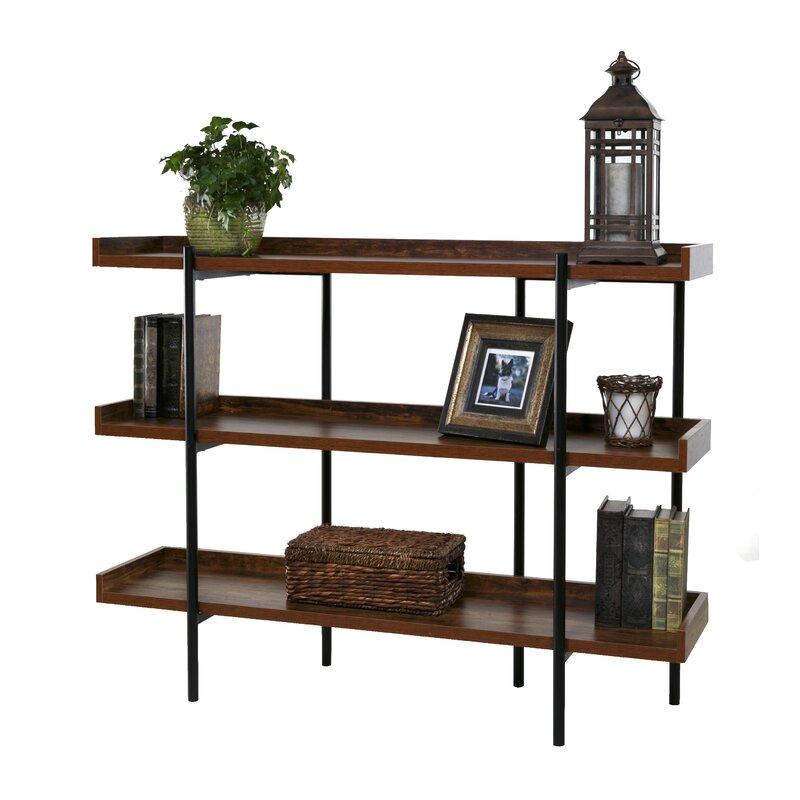 Calona Modern Etagere Bookcase & Reviews