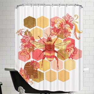 Bumblebee Onefeinday Shower Curtain