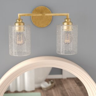 newest adeae 07f01 2 Light Gold Bathroom Vanity Lighting You'll Love in 2019 ...