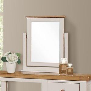 whitby rectangular dressing table mirror