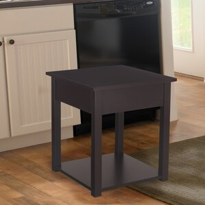 Modern Classic End Table by Adeco Trading