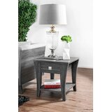 Cedillo End Table with Storage by Latitude Run®