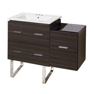 Hinerman 38 Single Bathroom Vanity Set