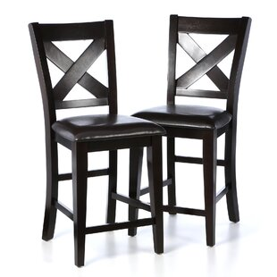 Carriage Hill 25 Bar Stool (Set of 2) Red Barrel Studio