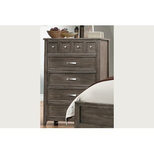 Compare Pirkle 8 Drawer Chest by Gracie Oaks