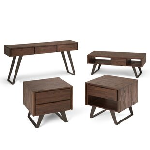 Elle 4 Piece Coffee Table Set
