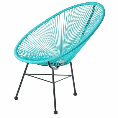 Acapulco Papasan Chair Finish: Blue by PoliVaz