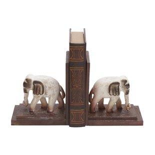White Elephant Bookends | Wayfair ca