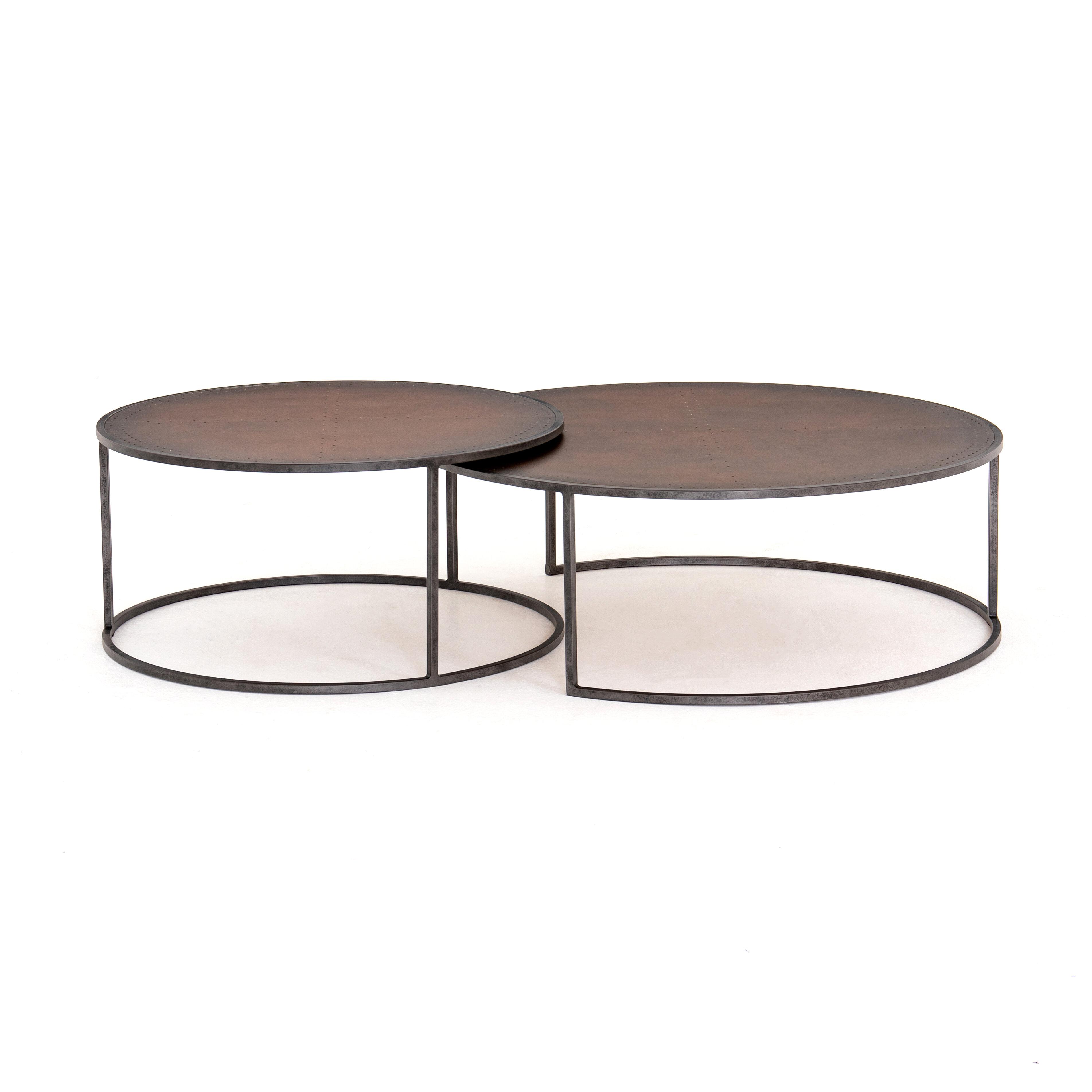 Corrigan Studio Antynanum Frame 2 Nesting Tables Reviews Wayfair
