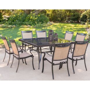 Bucher 9 Piece Dining Set