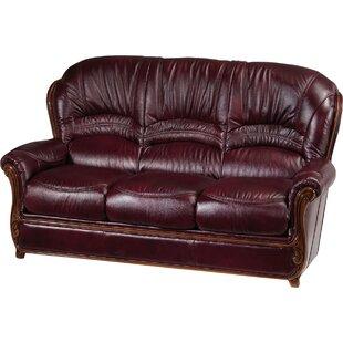 Leslie Leather Sofa Fleur De Lis Living