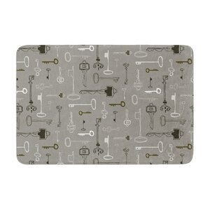 Keys by Laurie Baars Bath Mat
