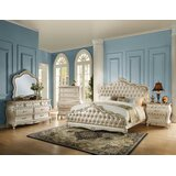 Waldorf Upholstered Standard Configurable Bedroom Set by Rosdorf Park