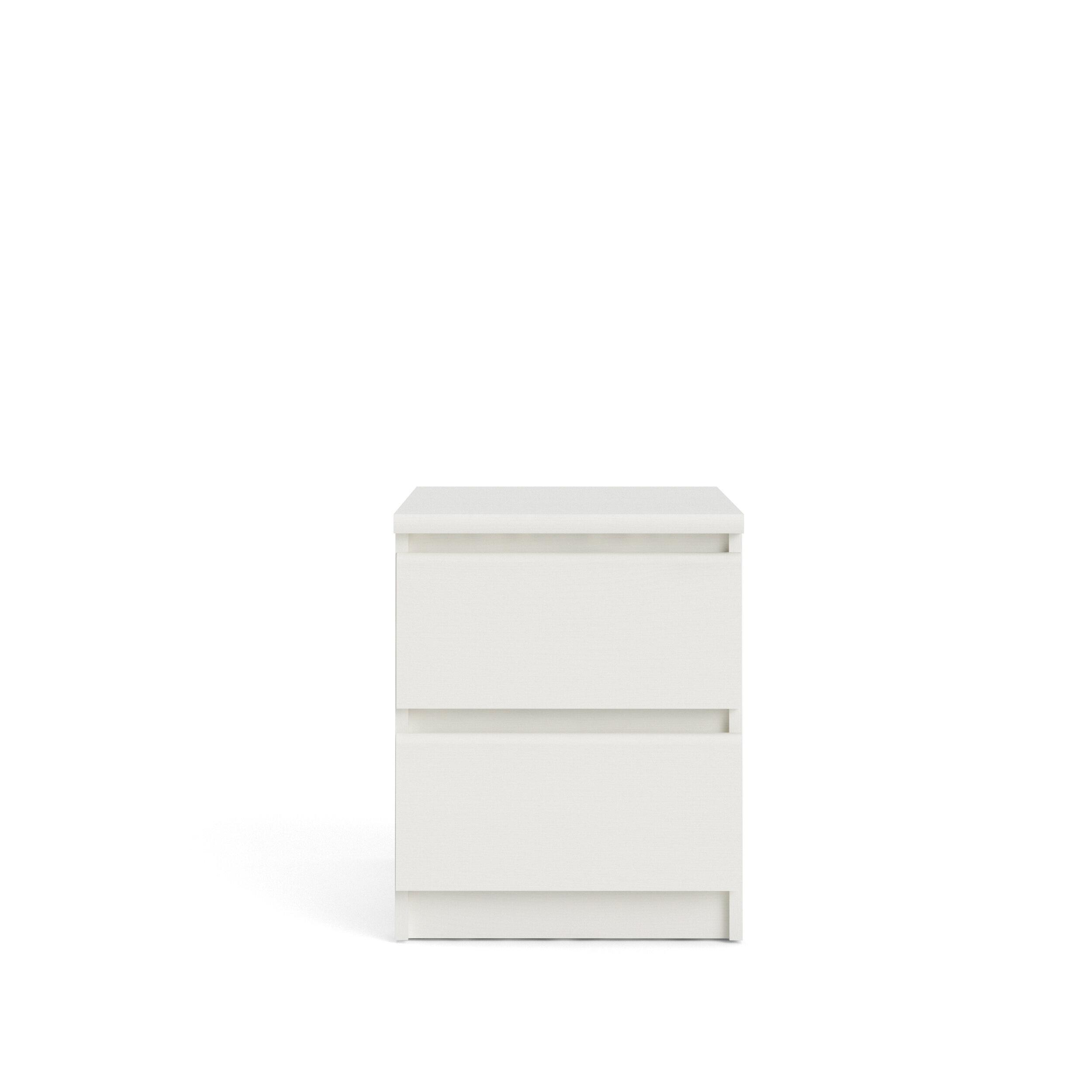 Kepner 2 Drawer Nightstand