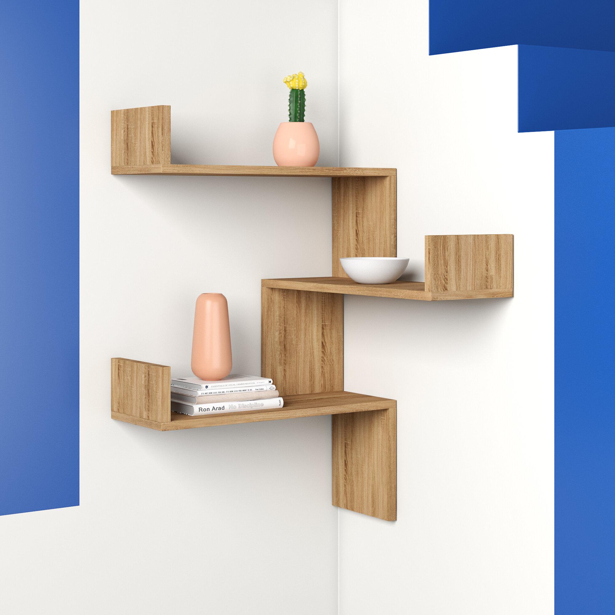 Hashtag Home Luci Floating Shelf Reviews Wayfair Co Uk