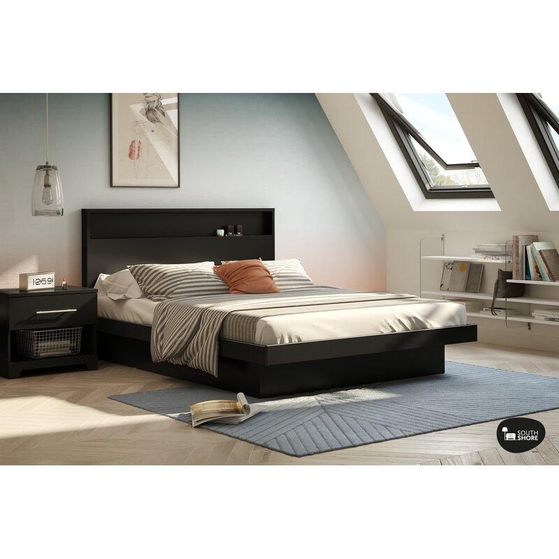 South Shore Basic Queen Platform Bed & Reviews | Wayfair