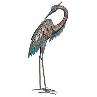 Blue Heron Outdoor Statue Wayfair