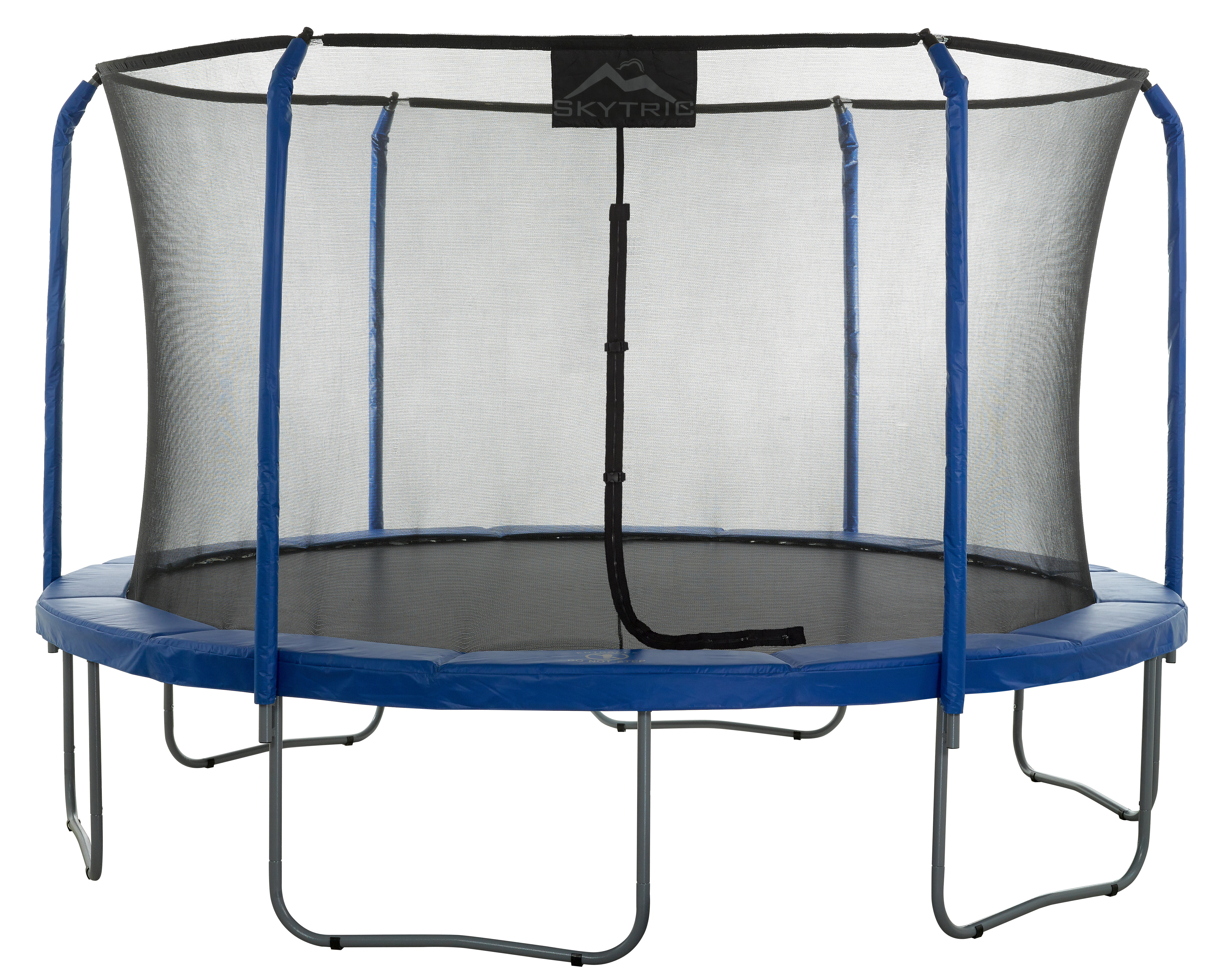 Upper Bounce ReplacementSafety Net for Trampoline using Curved Poles /& Top Ring