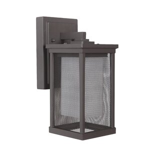 Best Reviews Oakhill 1-Light Wall Lantern By Charlton Home