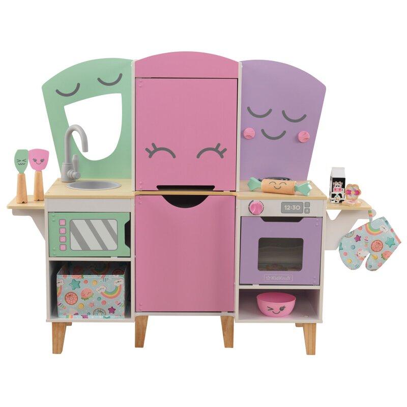 Kidkraft Lil Friends Play Kitchen Set Wayfair
