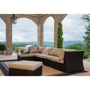 Chaunte Sectional Sofa with Cushions