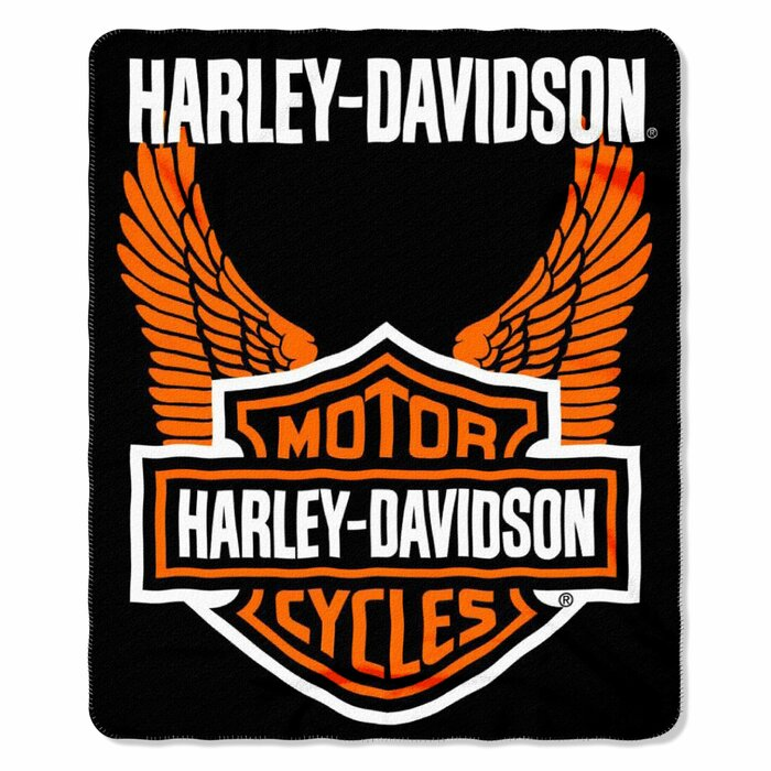 Harley Fleece Throw