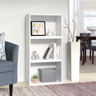 Andrade Standard Bookcase by Wrought Studio SKU:BD315207 Check Price