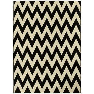 Compare & Buy Black/White Area Rug By Brady Home