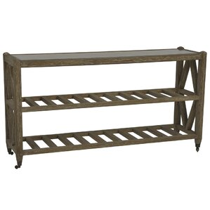 Sarreid Ltd Brussels Wall Console Table with Caster