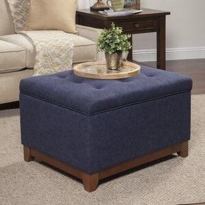 Clearance Nunnally Upholstered Storage Cocktail Ottoman by Alcott Hill