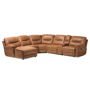 Carnegie Reclining Sectional by Red Barrel Studio New