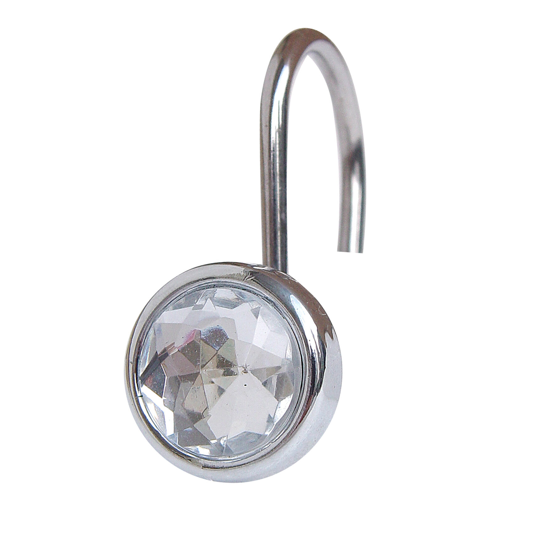 Elegant Home Fashions Jewel Shower Curtain Hooks Reviews