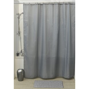 Affordable Solid Shower Curtain By Evideco