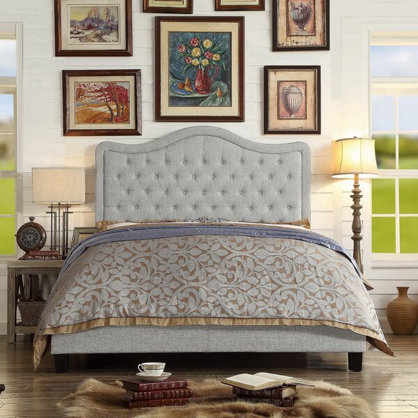 Turin Upholstered Panel Bed Amp Reviews Birch Lane