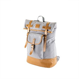 Insulated Canvas Adventure Backpack Cooler