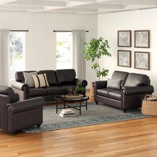 Bella Vista 3 Piece Living Room Set by Three Posts