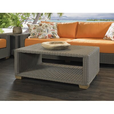 Huck Wicker Coffee Table by Rosecliff Heights Best Design
