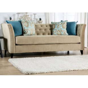 Compare prices Driver Tufted Sofa by Rosdorf Park Reviews (2019) & Buyer's Guide