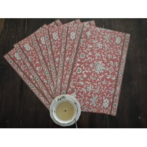 chandelier placemat set of 6