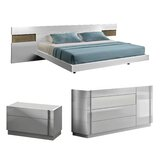 Brackenridge Platform Configurable Bedroom Set by Wade Logan