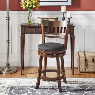 Leda 24 Swivel Counter Stool by Andover Mills