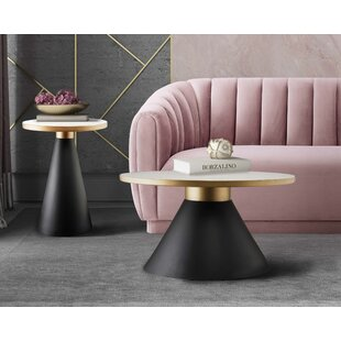 Cohutta 2 Piece Coffee Table Set by Everly Quinn Modern