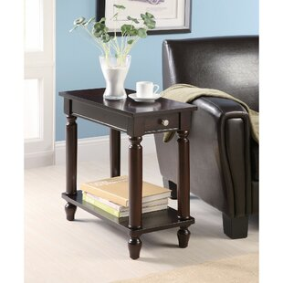 Kimmons Elegant Wooden End Table by Alcott Hill Reviews